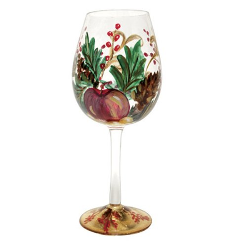 Holiday Berry Red Wine Glass (20oz)