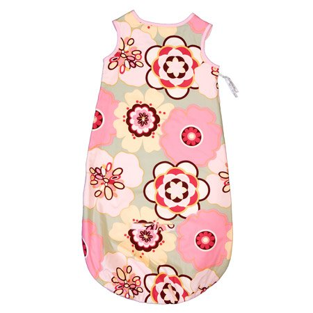 Pink Floral Luxury Wearable Blanket