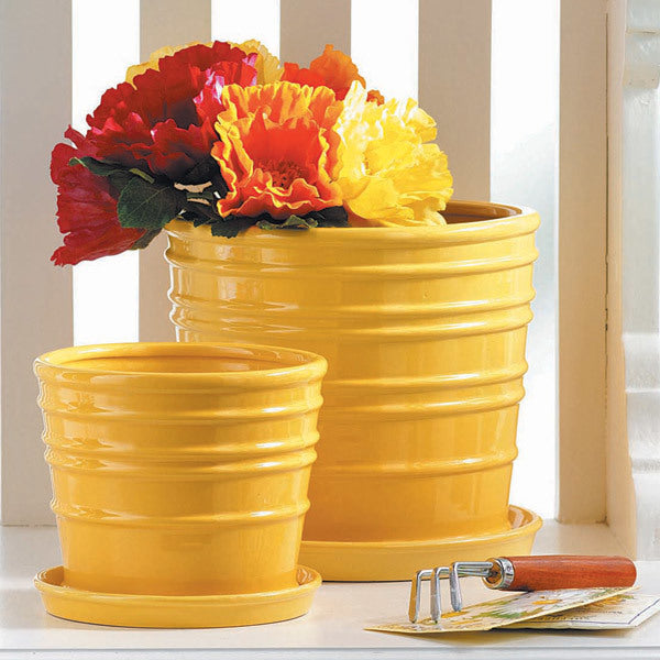 Beehive Planters (set of 2)
