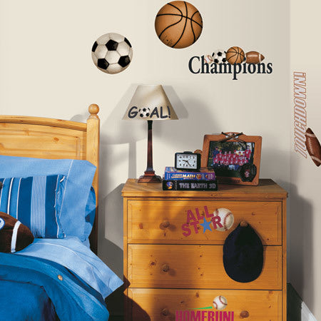 Play Ball Wall Appliques (25)