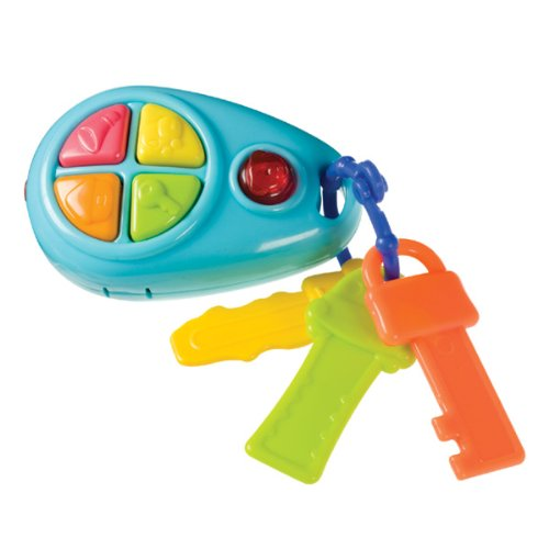 Push & Play Electronic Key Chain