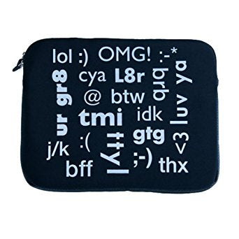 Conversation Laptop Sleeve