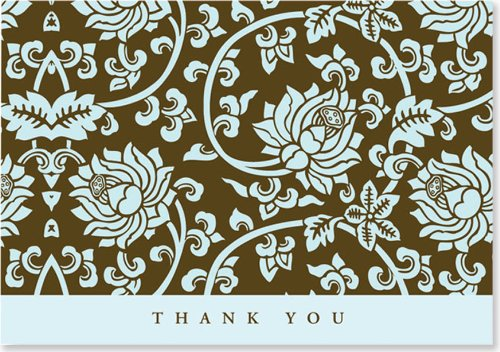 Acadian Tapestry Thank You Note Cards