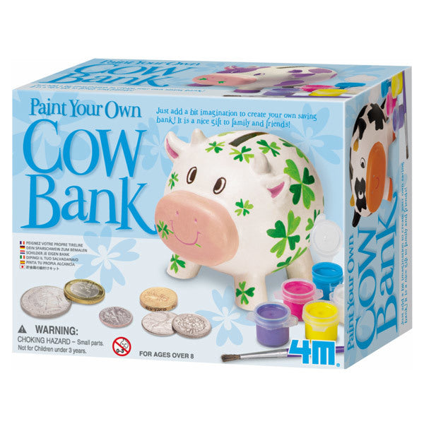 Paint a Cow Saving Bank (DIY)