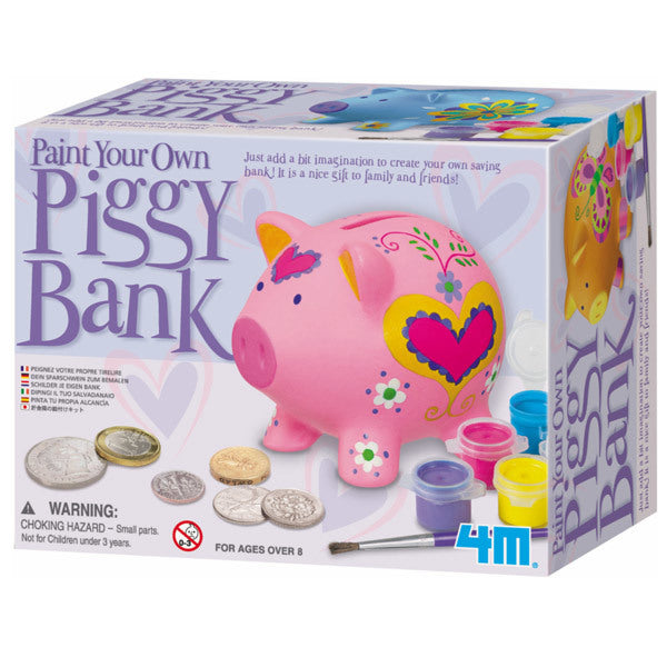 Paint a Pig Saving Bank (DIY)