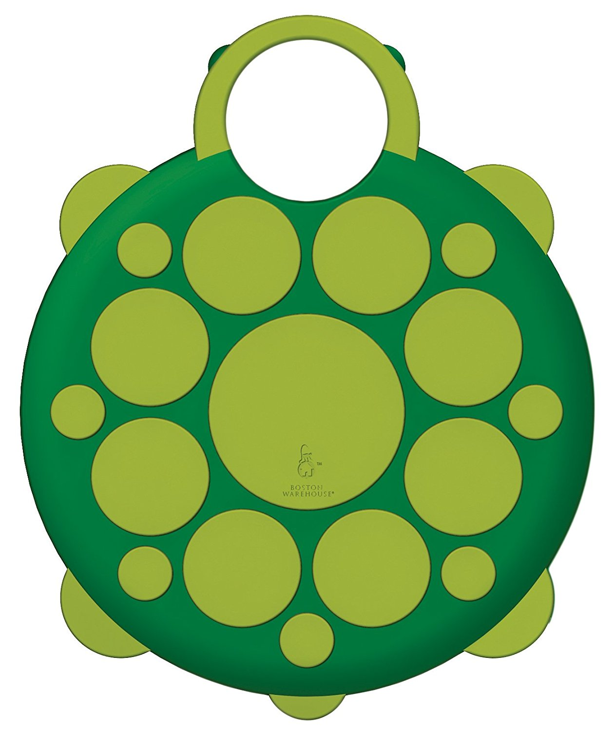 Animal Shaped 2-in-1 Cutting Board & Trivet Combo - Turtle