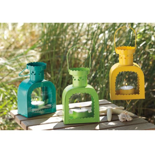 Summer Brights Vintage Tealight Lanterns
