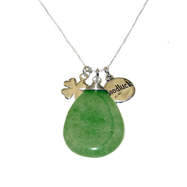 Good Luck Aventurine Pendant Necklace