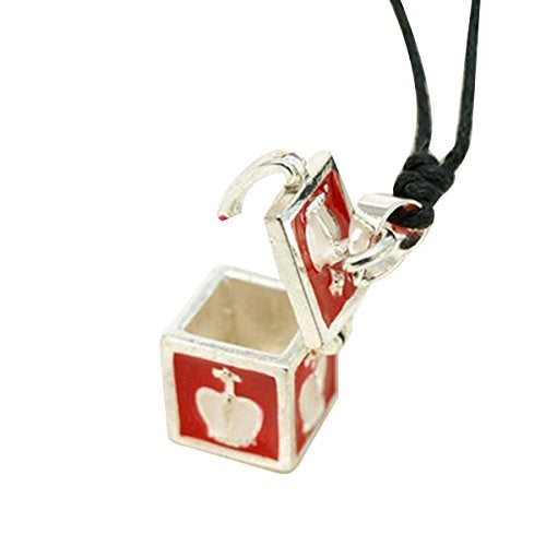 King's Treasure Box Pendant Necklace, 18 inches