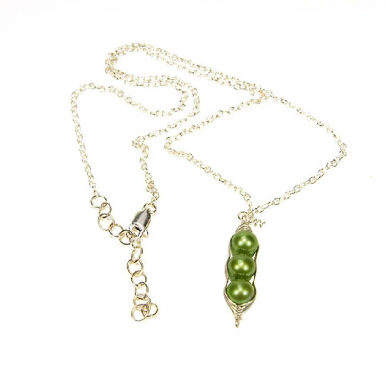 Three Peas in a Pod Freshwater Pearl Necklace
