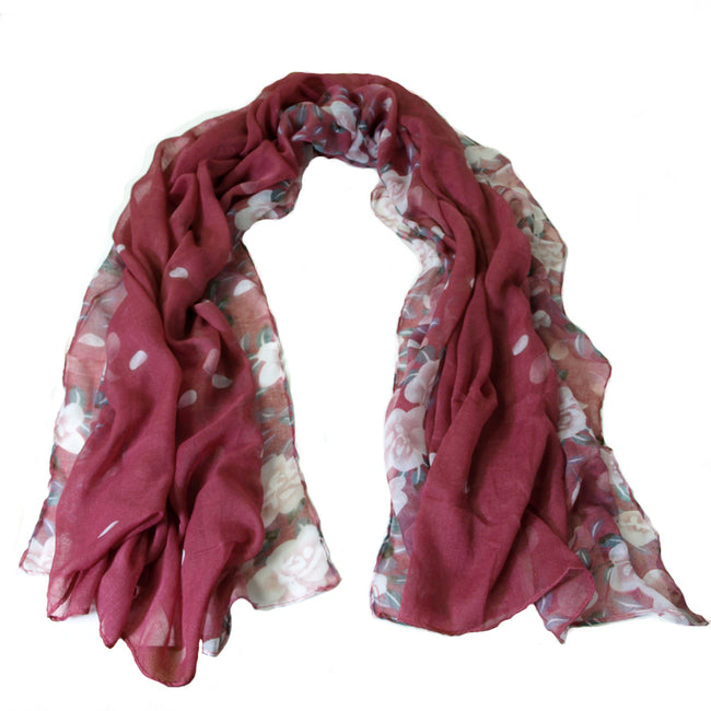 Love is Bliss Lightweight Floral Scarf