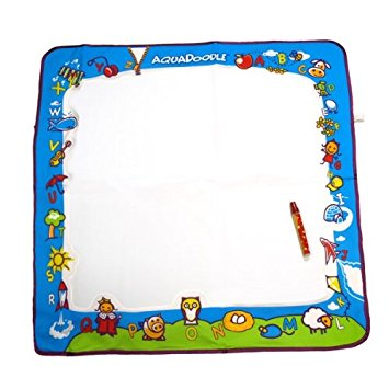 "Aquadoodle Draw N' Doodle Jumbo Deluxe Drawing Mat Set, 28.5"" x 28.5"""
