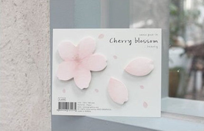 Cherry Blossom Sticky Notes