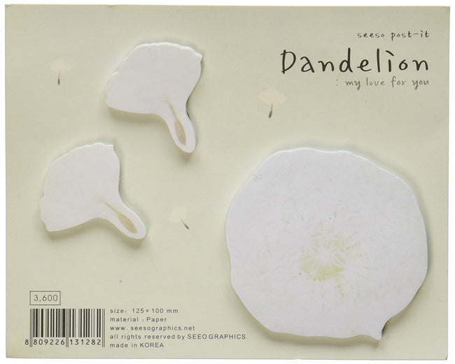 Dandelion Sticky Notes