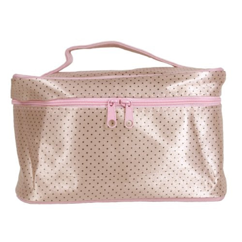 Polka Dot Cosmetic Bag Organizer