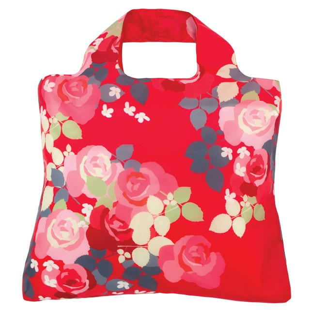 Envirosax Rose Bloom Reusable Shopping Bag