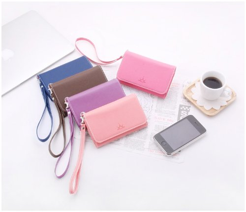 iPhone / Smartphone Leather Case and Wallet