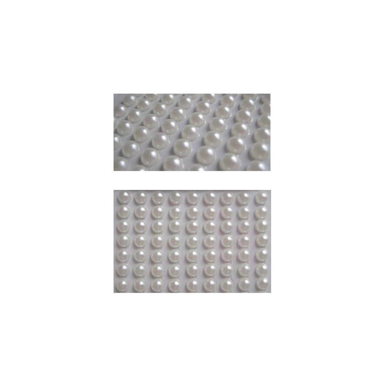 Wrapables 4mm Self Adhesive Pearl Stickers, 1000pcs