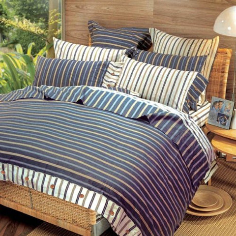 Strips Throw Pillow