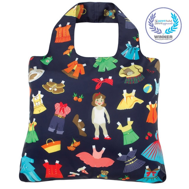 Envirosax Kids Paper Dolls Reusable Shopping Bag