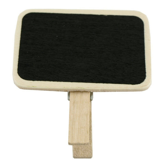 Wrapables Mini Chalkboard with Wooden Clip
