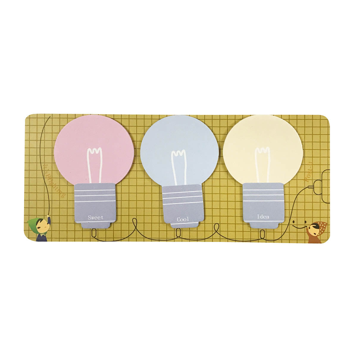 Light Bulb Sticky Notes