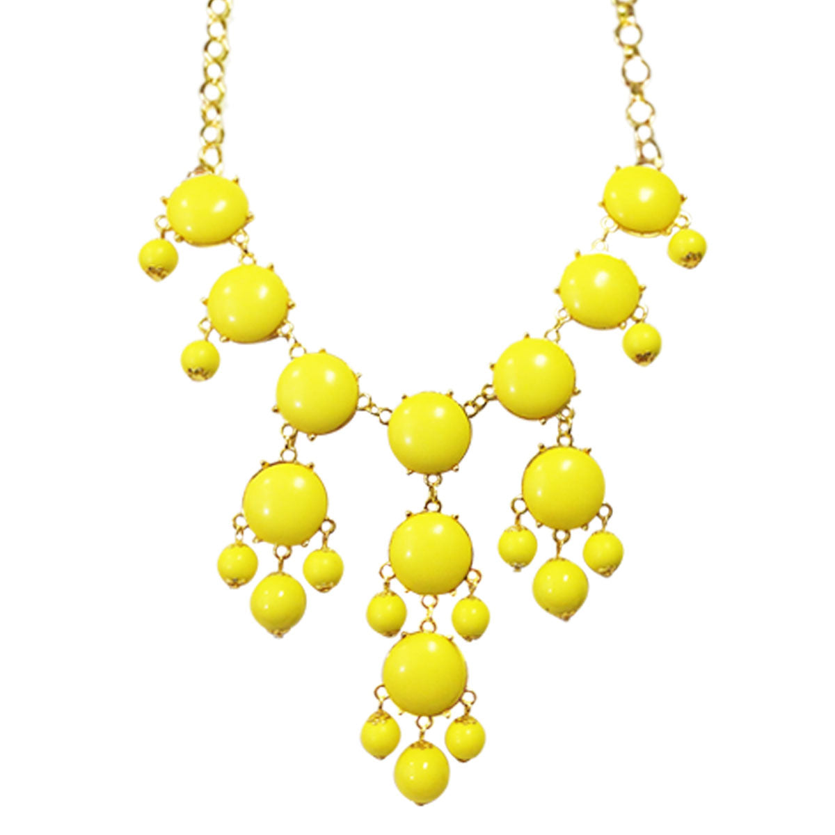 Wrapables Bubble Bib Statement Necklace