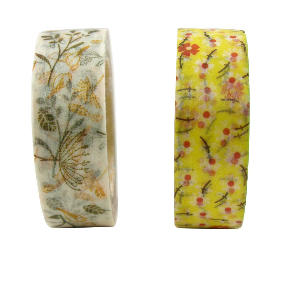 Wrapables Burst of Autumn Japanese Washi Masking Tape (Set of 2)