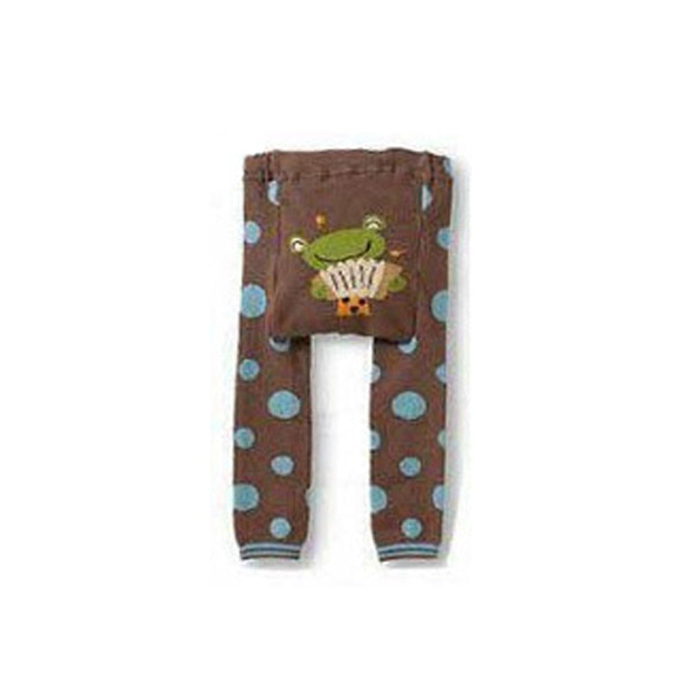 Wrapables Baby & Toddler Busha Leggings, Accordion Frog