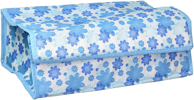 12 Grid Soft Cover Floral Multi-Purpose Storage Box