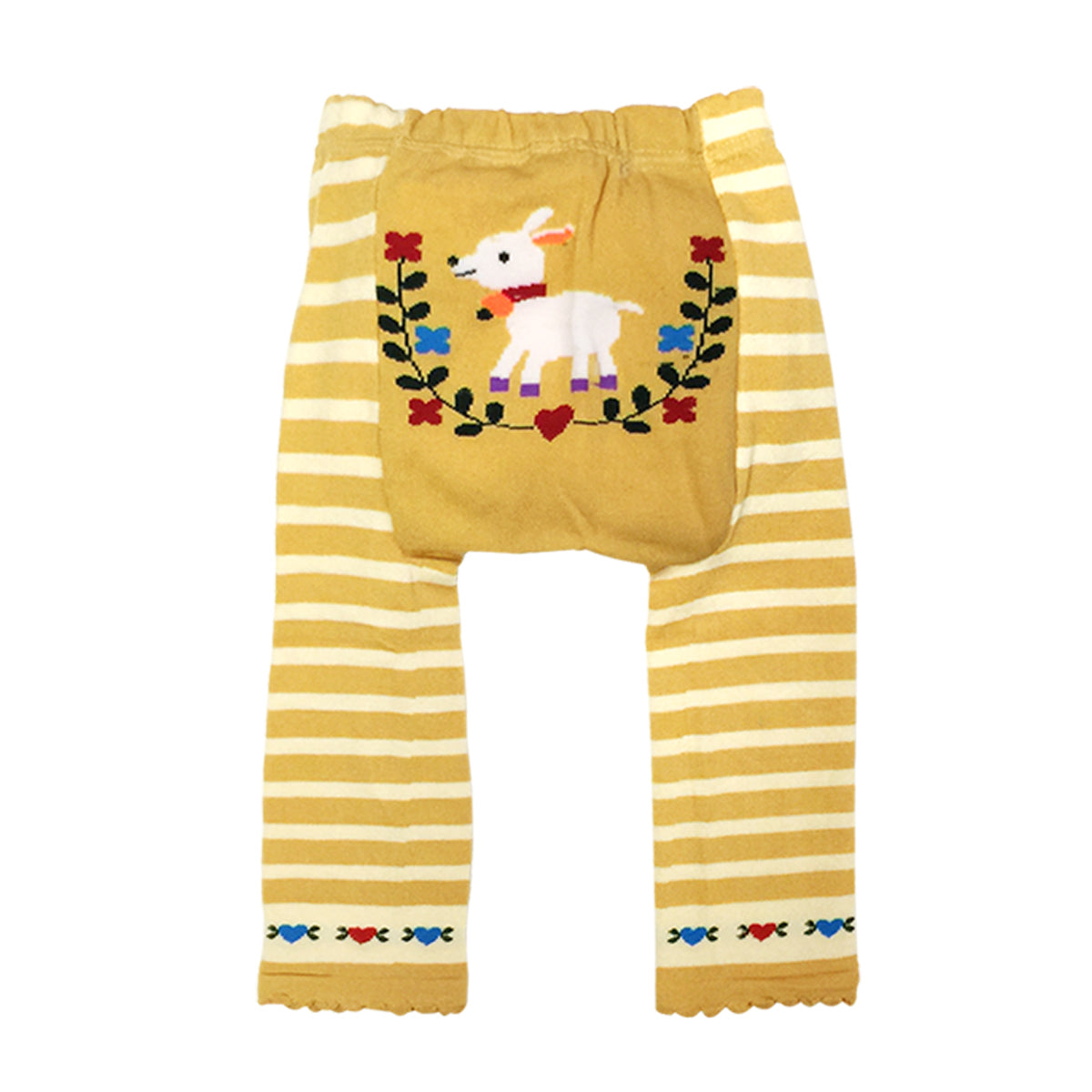 Wrapables Baby & Toddler Busha Leggings, Lovely Billy Goat