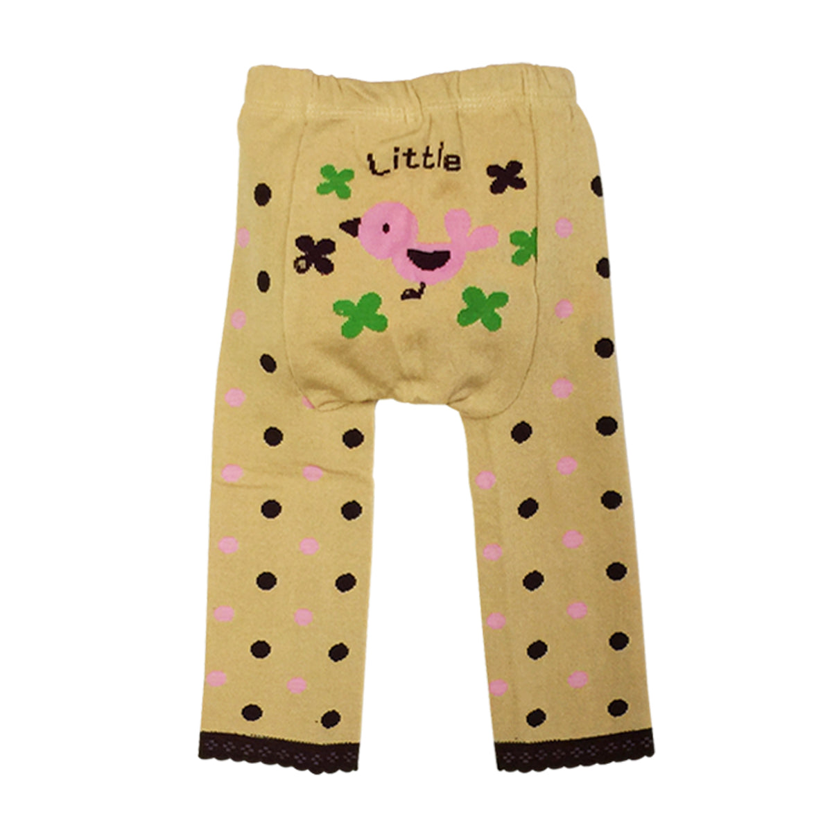 Wrapables Baby & Toddler Busha Leggings, Little Pink Birdie