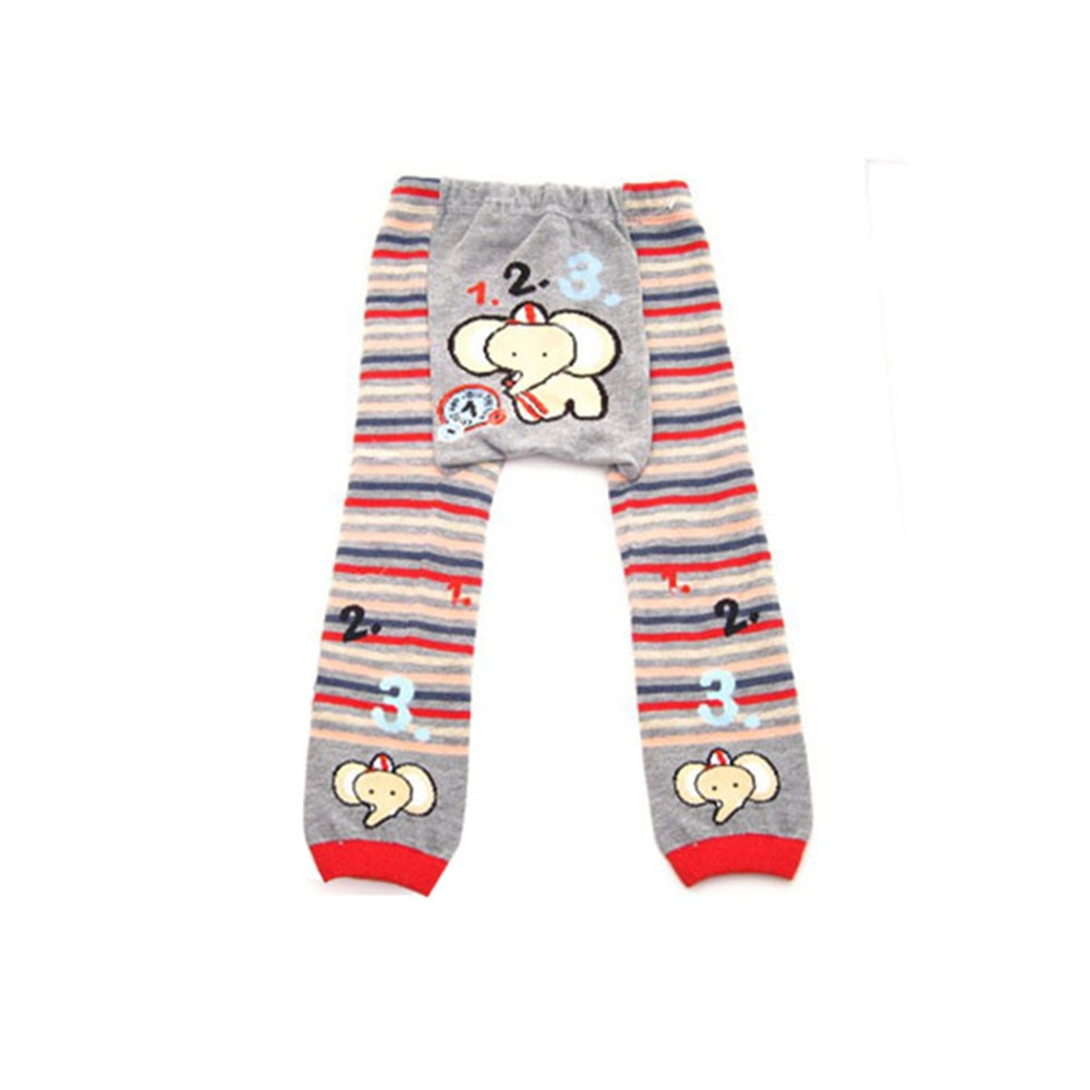 Wrapables Baby & Toddler Busha Leggings, 123 Elephant