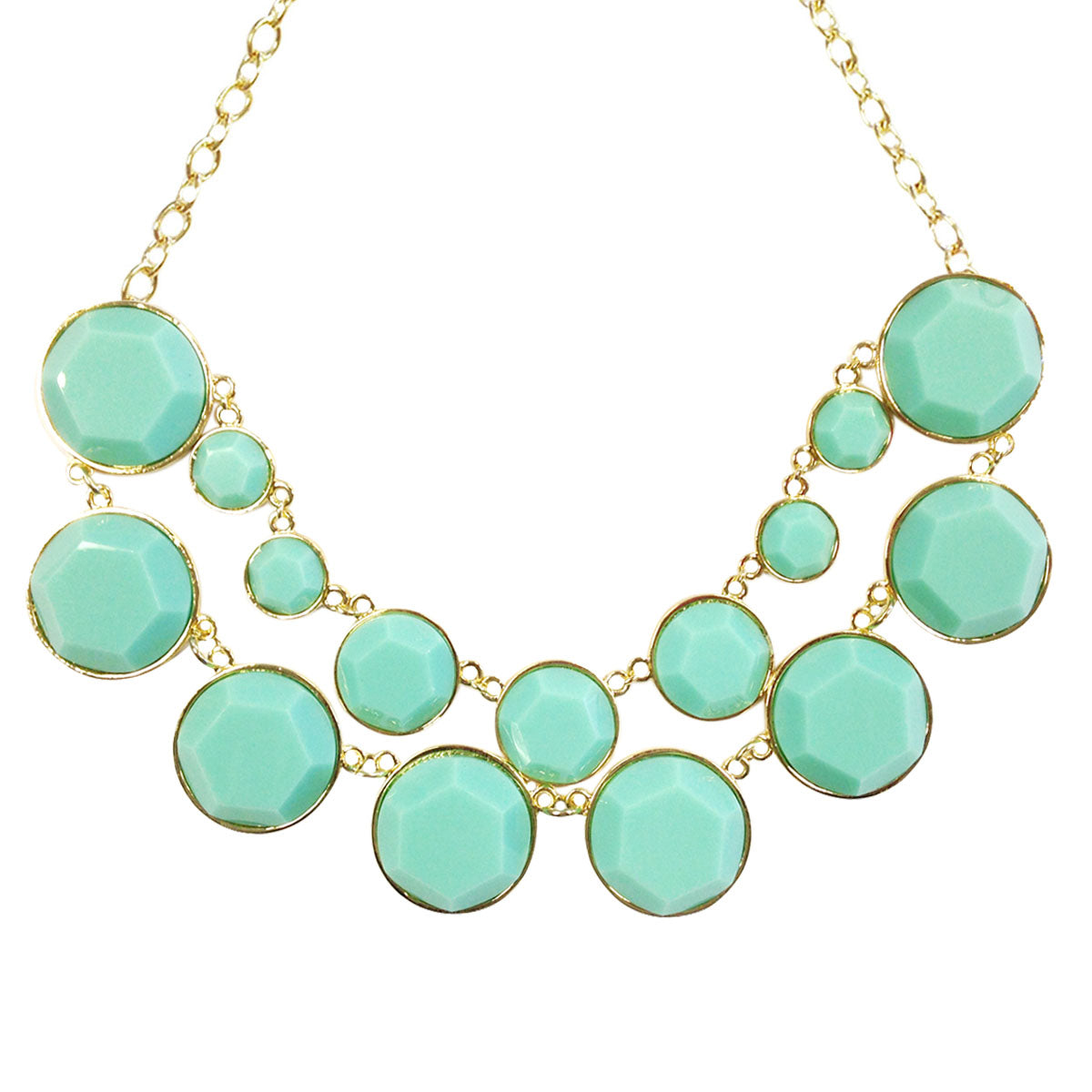 Designer Inspired Double Layer Bubble Necklace