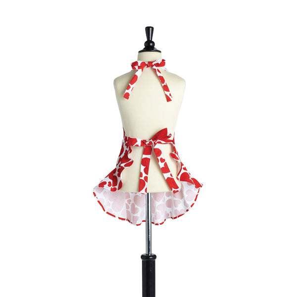 Jessie Steele Heart Bib Child's Josephine Apron