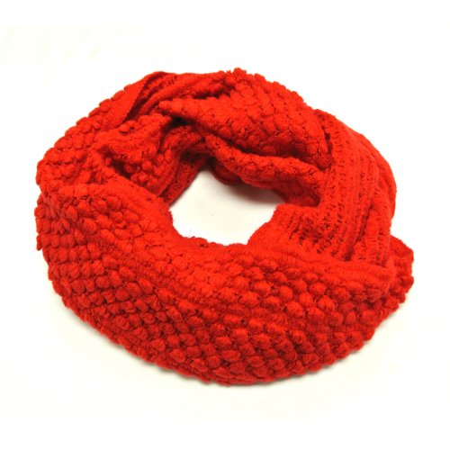 Winter Infinity Wool Scarf