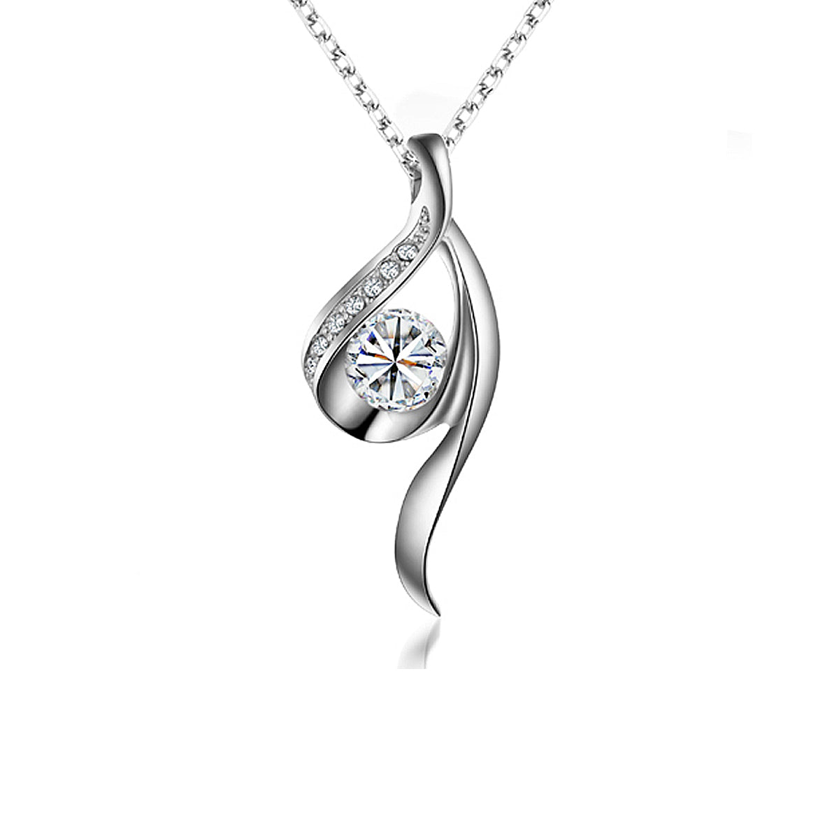 Wrapables True Elegance Crystal Necklace