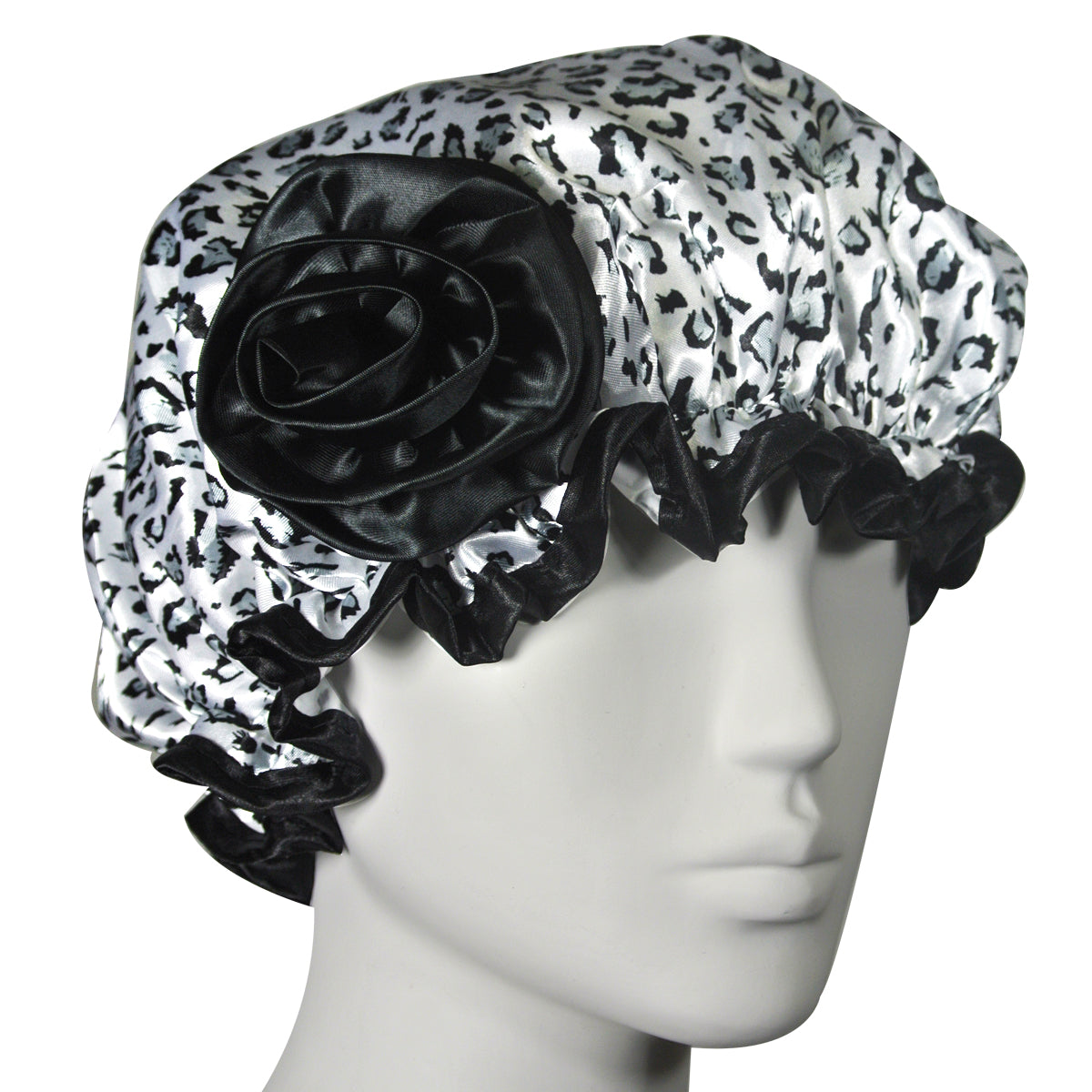 Kella Milla Stylish Satin Shower Cap