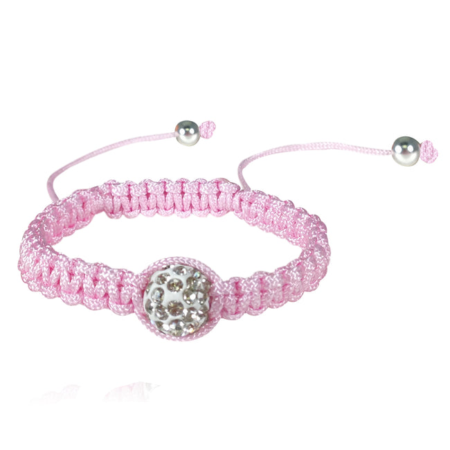 Children's Single Bead Cord Bracelet