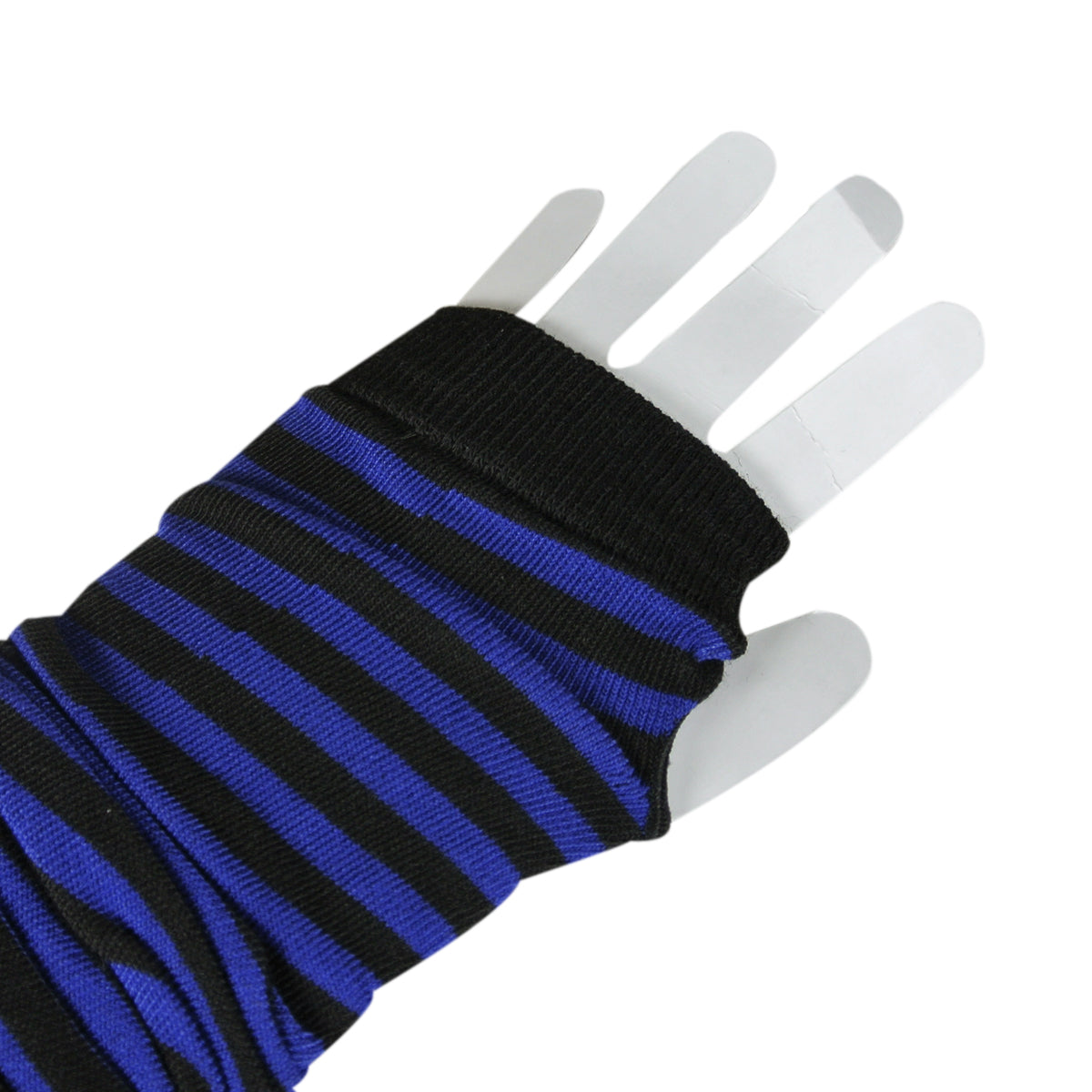 Wrapables Striped Arm Warmers