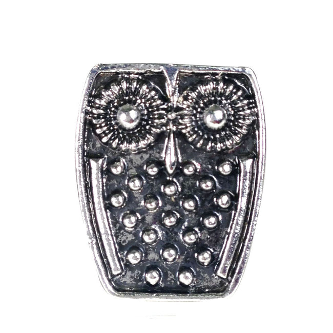 Adjustable Vintage Owl Ring