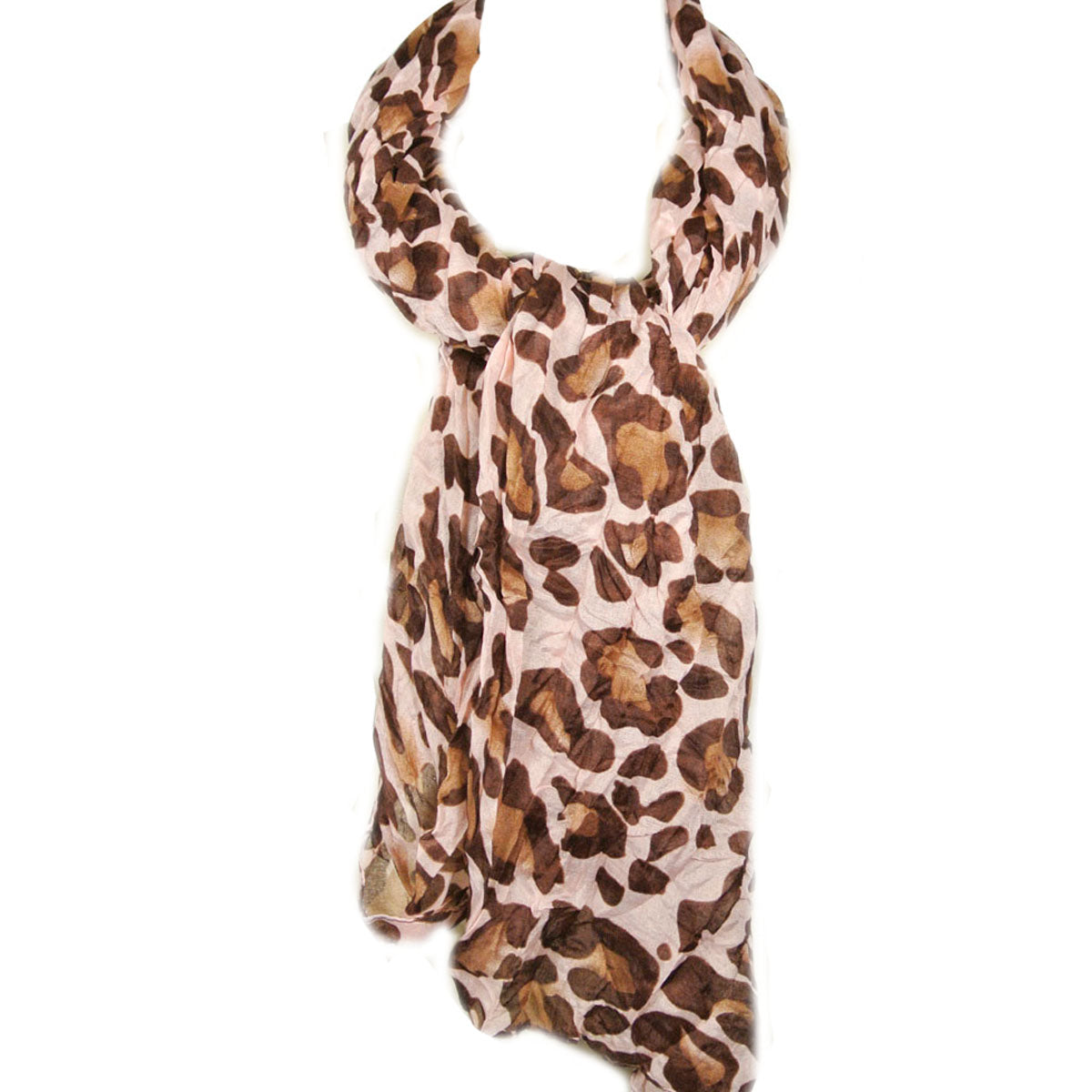 Large Leopard Print Scarf