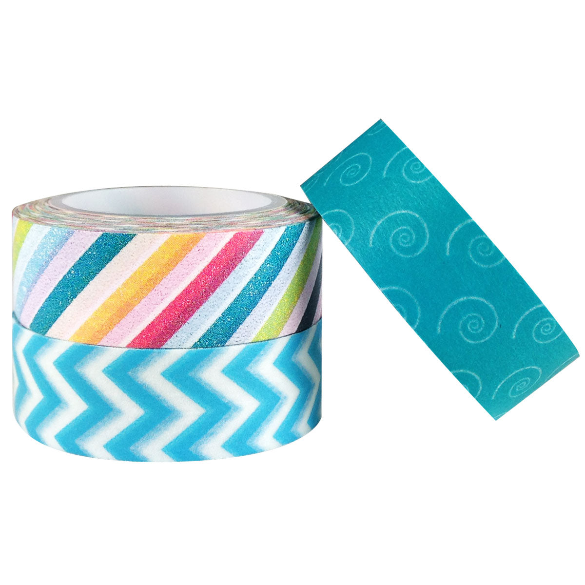 Winter Whirl Japanese Washi Masking Tape (set of 3)