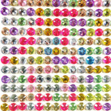 Wrapables 6mm Crystal Diamond Adhesive Rhinestones, 500 pieces, Multi-color