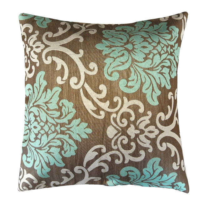 Kella Milla Regal Damask Throw Pillow Cover