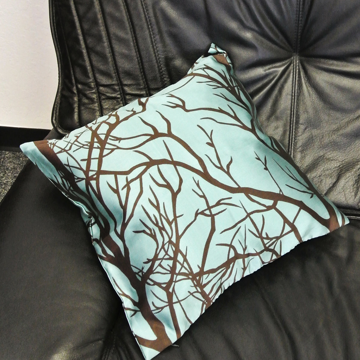 Kella Milla Contemporary Woodlands Throw Pillow Cover