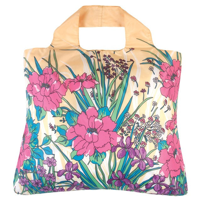 Envirosax Orchids Garden Party Reusable Shopping Bag