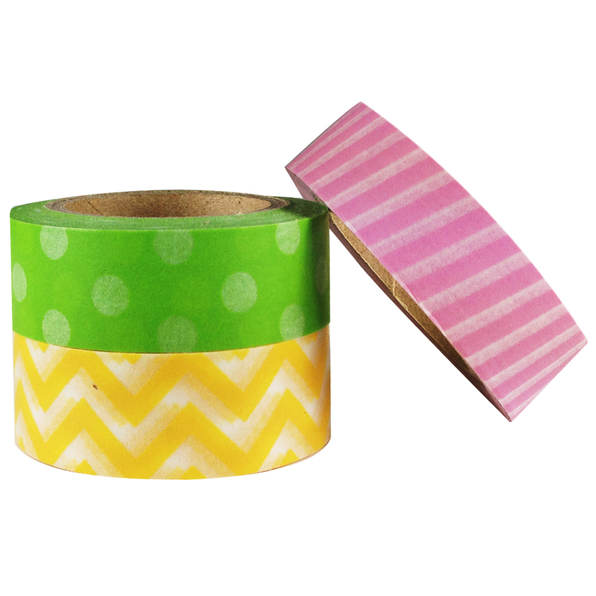 Wrapables It's a Girl! Japaese Washi Tape Masking Tape, set of 3