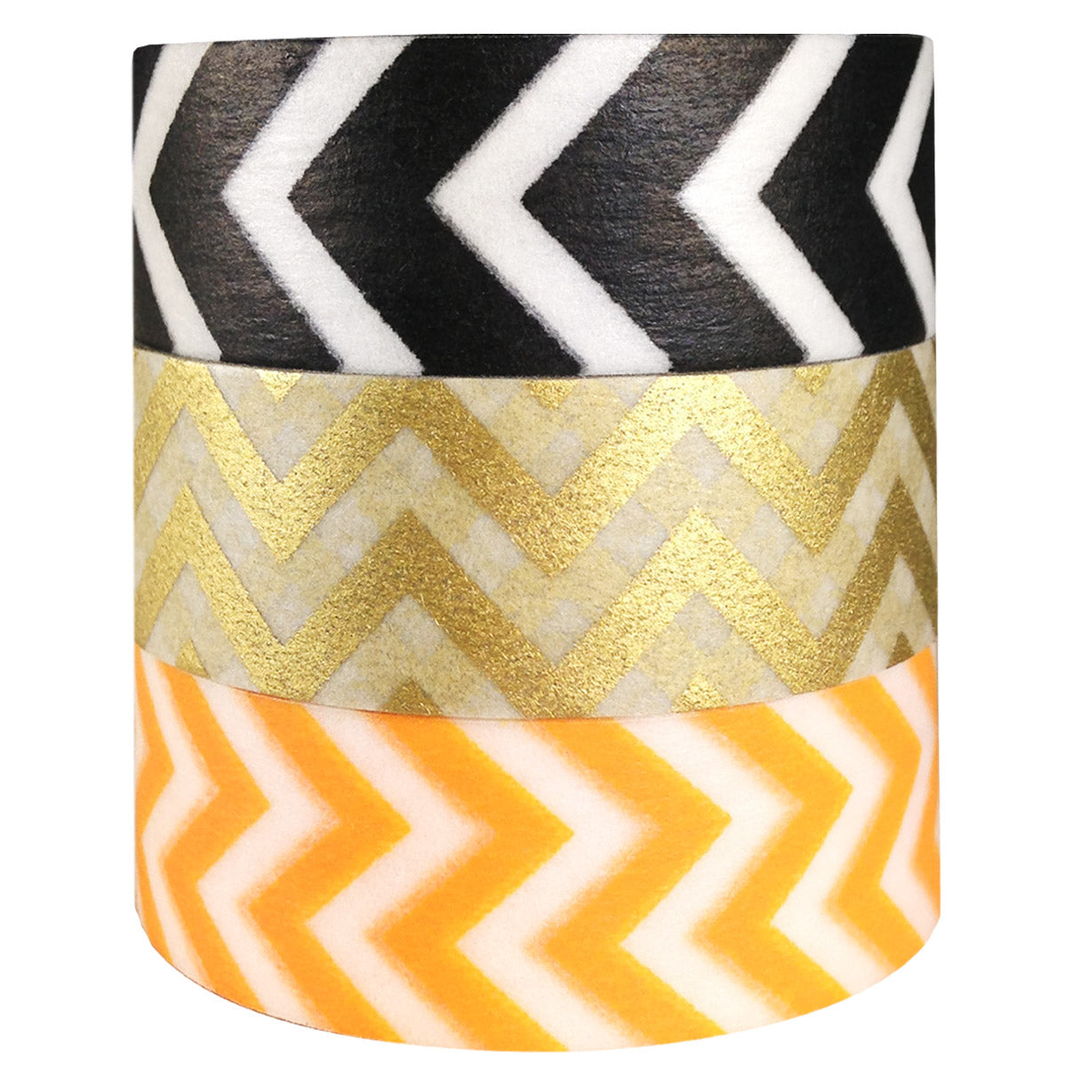Wrapables Impressions Japanese Washi Masking Tape (set of 3)