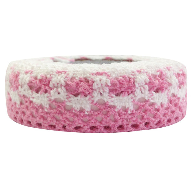 Wrapables Colorful Decorative Adhesive Lace Tape